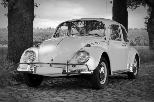Ein klassischer VW-Käfer wie dieser wurde in 130 Metern Tiefe im Königssee gefunden.